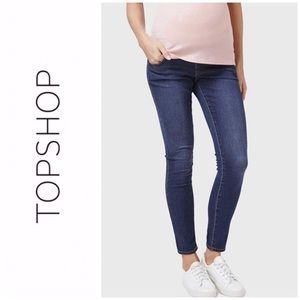 Topshop MATERNITY Over The Bump Leigh Jeans